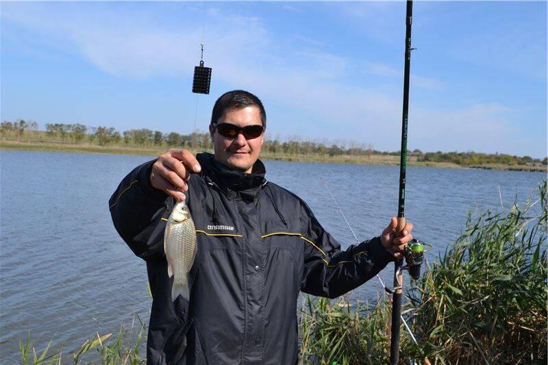 Рыбалка на реке Ясени