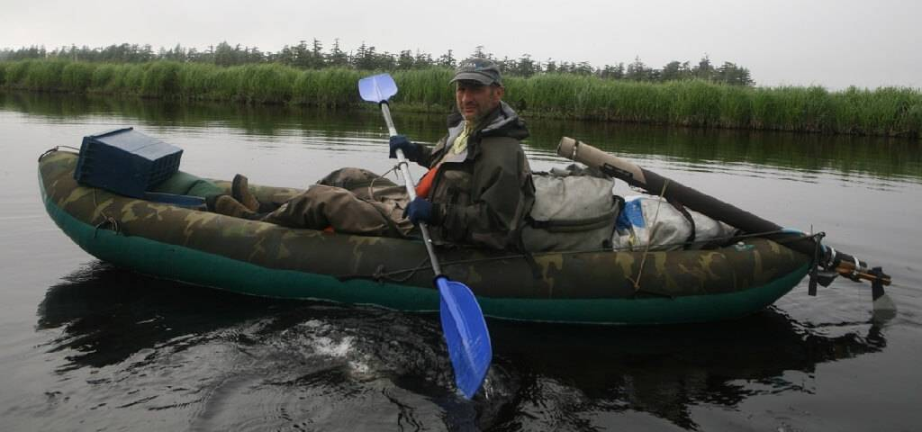 Байдарка для рыбалки