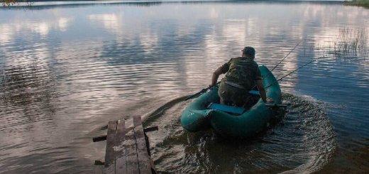 Рыбалка на Валдайском озере