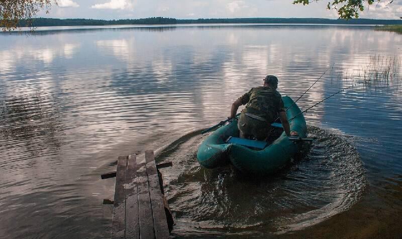 рыбалка на валдайке