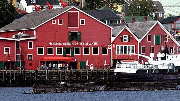 Рыболовный музей Атлантики в Канаде
