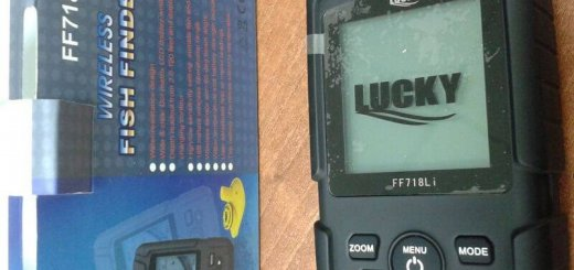 Эхолот Lucky FF718