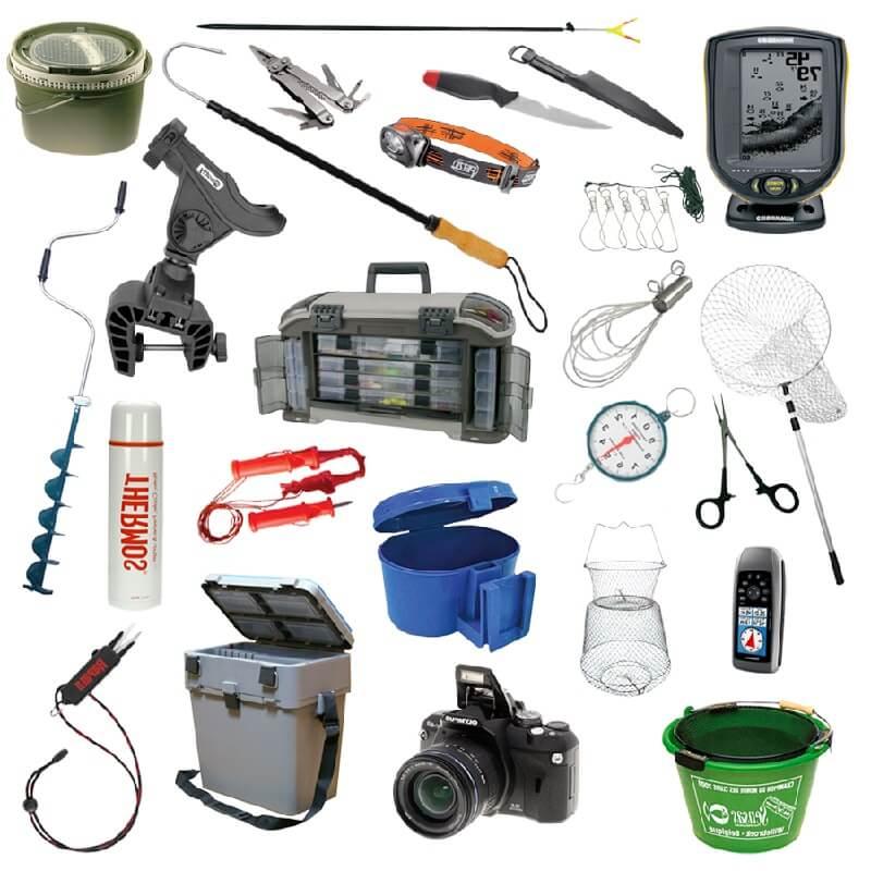 рыболовное снаряжение камера