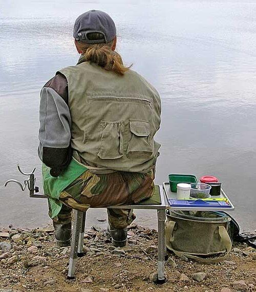Майдан для рыбалки своими руками
