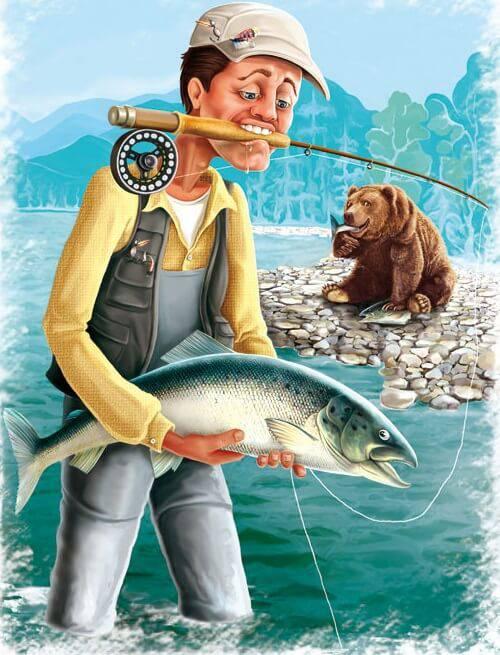 Правильное вываживание предотвратит травмирование рыб