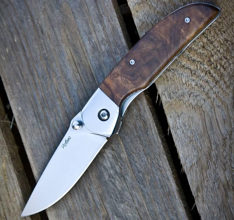 Складной нож Ирбис