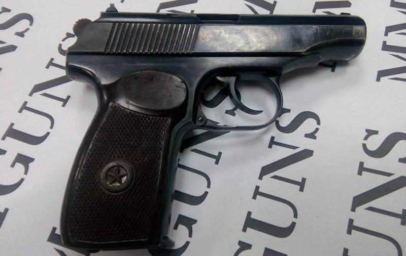 Пистолет Макарова охолощенный ПМ-СХ