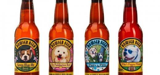 Пиво для собак Bowser Beer