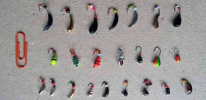 Снасти для ловли зимой в коряжнике