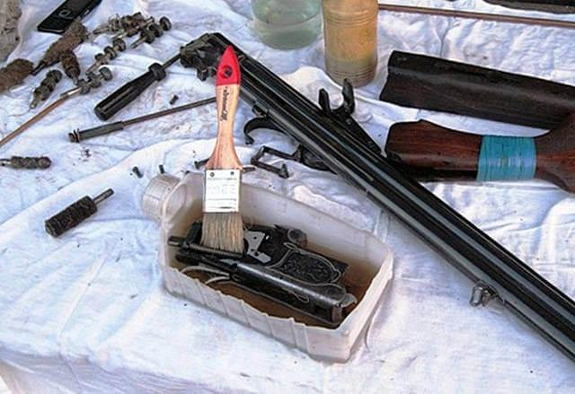Уход за охотничьим оружием
