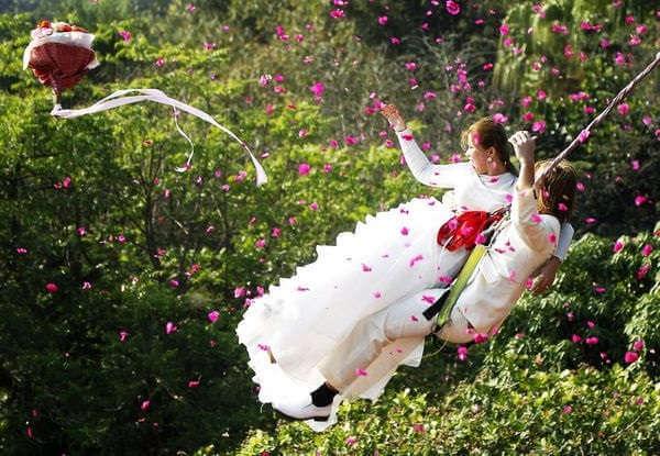 Экстрим на свадьбе