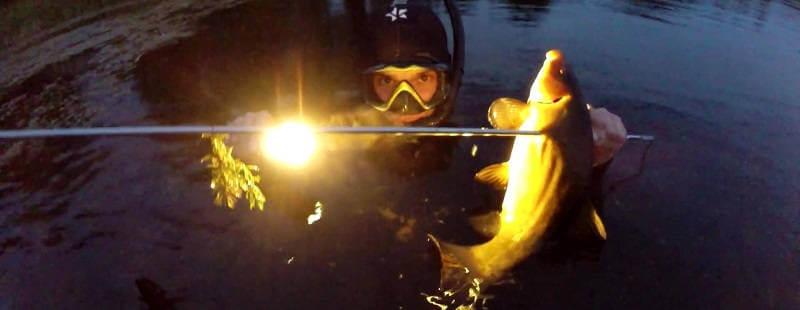Подводная охота в Кировской области