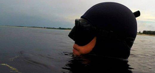 Подводная охота летом