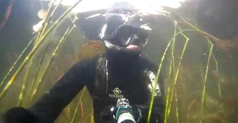 Подводная охота в Башкирии