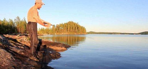 Рыбалка на озере Кичаны
