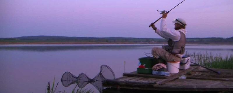 Рыбалка на озере Луцковляны