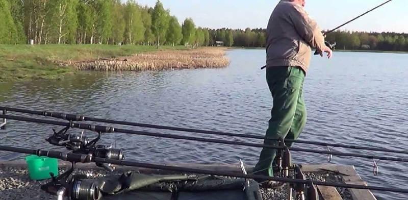 Рыбалка на озере Новое
