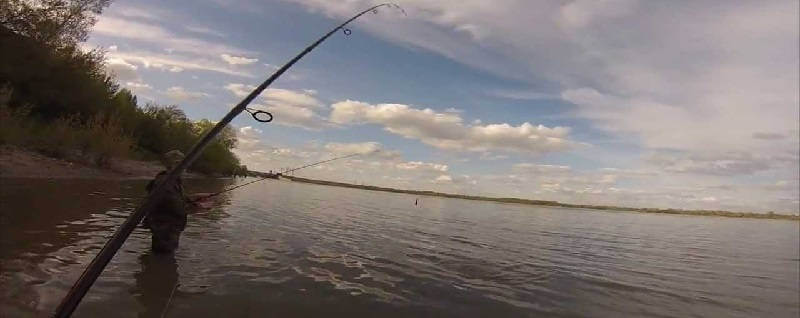 Рыбалка на реке Обь