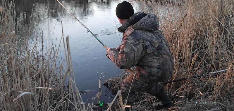 Рыбалка на реке Уды