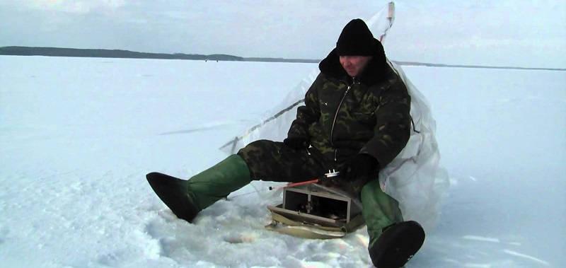 Рыбалка зимой на Горьковском водохранилище