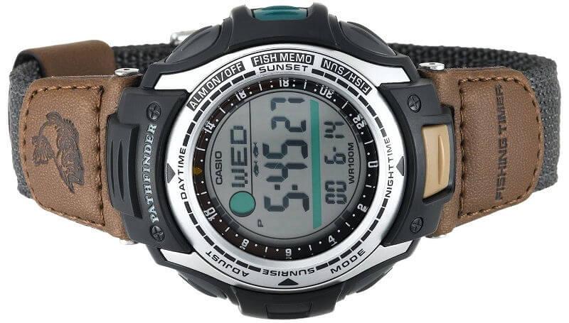 Часы для рыболова Casio PATHFINDER Fishing