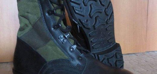 Армейские немецкие тропические ботинки