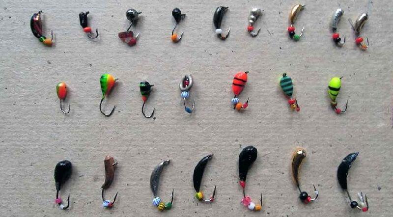 мормышки для летней рыбалки видео