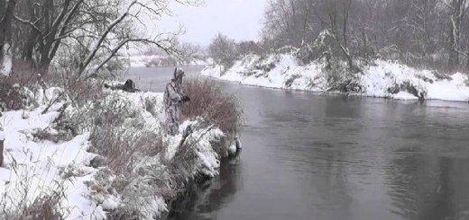 Ловля щуки зимой с берега