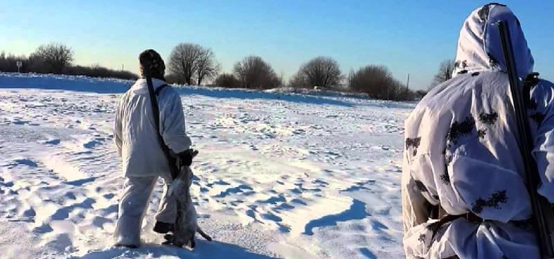 Охота на зайца зимой в Нижегородской области