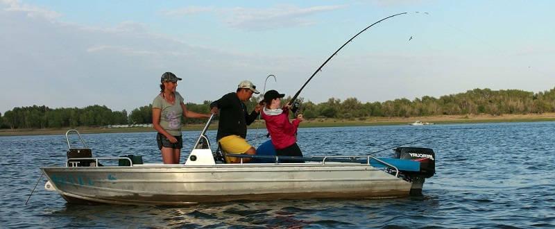 Отдых и рыбалка на базах Волги
