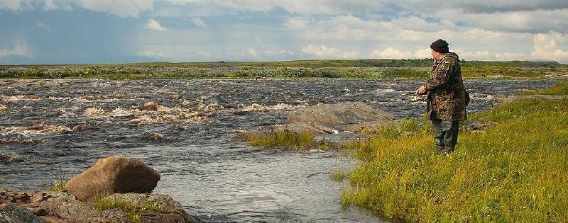 Рыбалка на Терском берегу Белого моря