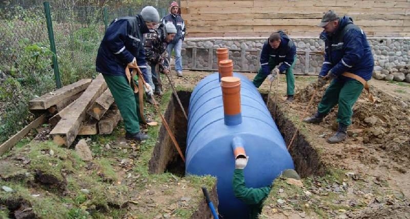Автономная канализация для загородного коттеджа