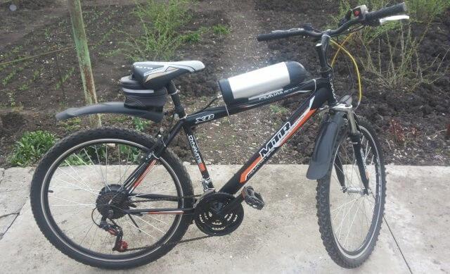 Электровелосипед MTR