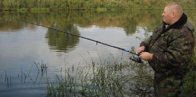 спиннинг для ловли толстолоба