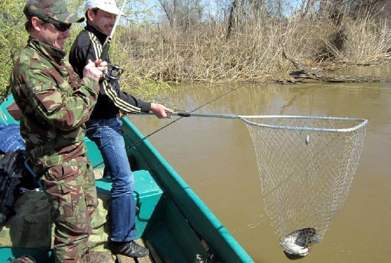Рыбалка в марте на Волге