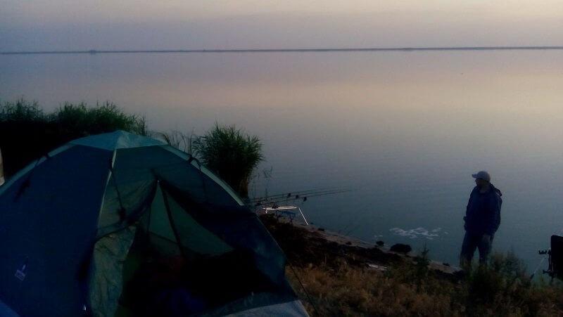 Рыбалка в ночное время