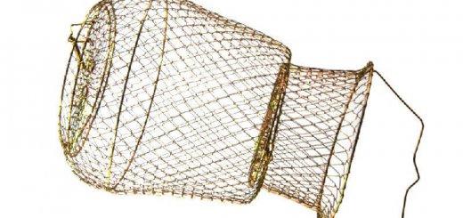 Садок для рыбы металлический