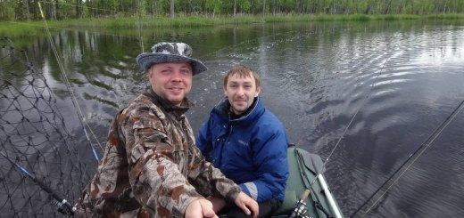 Рыбалка на Ивинском разливе