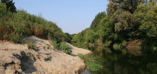 Проводка в узком месте реки