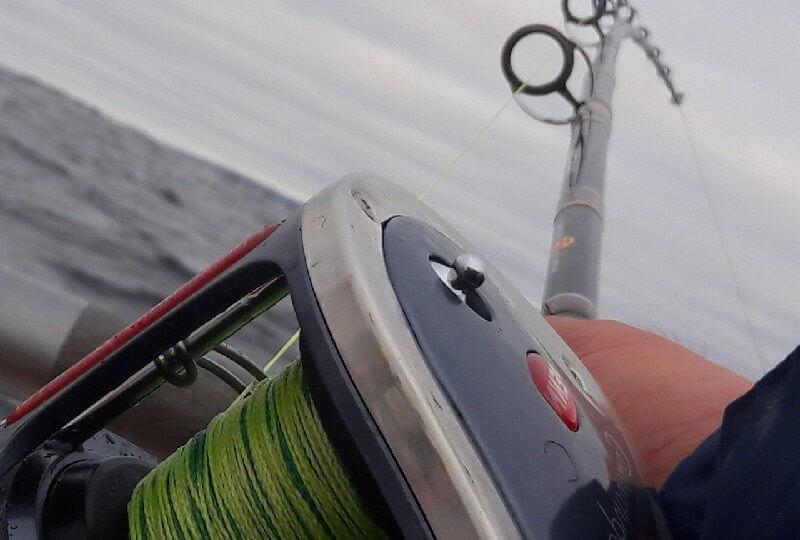 Катушка для морской рыбалки