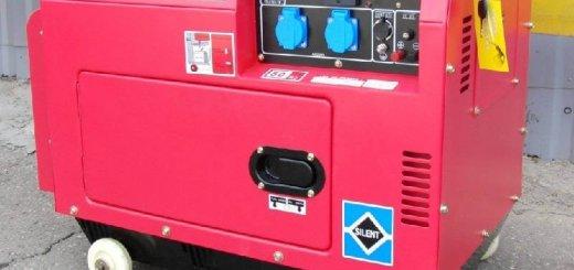 Дизельный генератор leega LDG 6500S