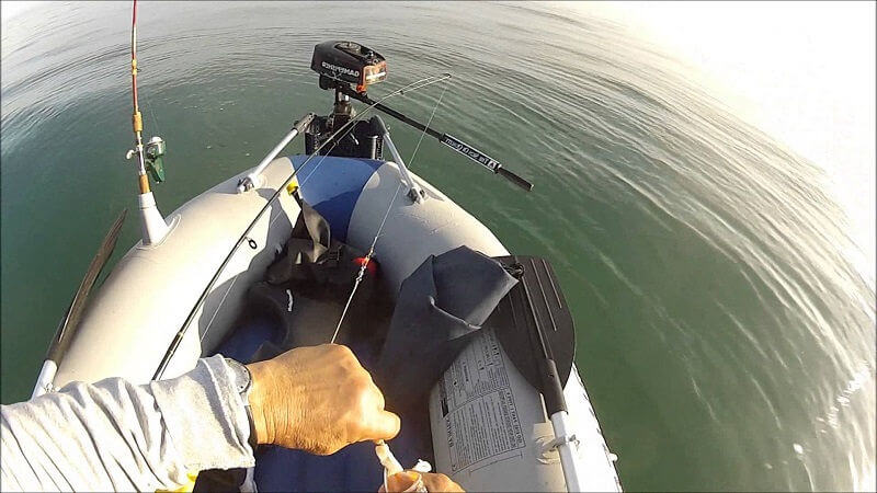 Ловля на море с лодки