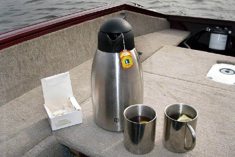 Чай на рыбалке