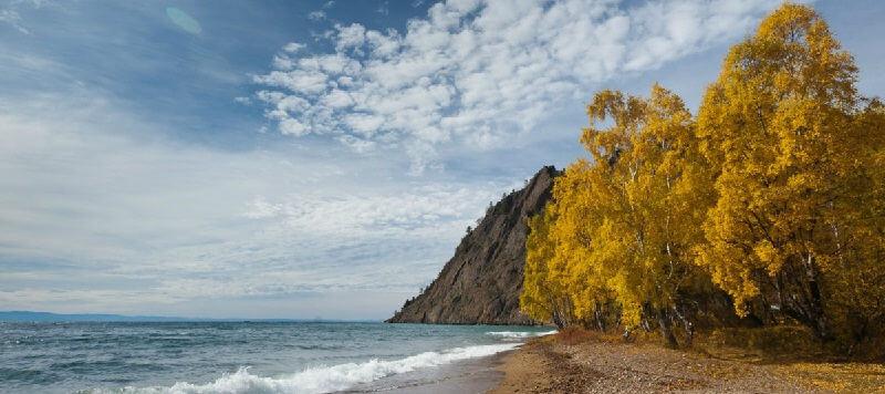 Осенью на Байкале