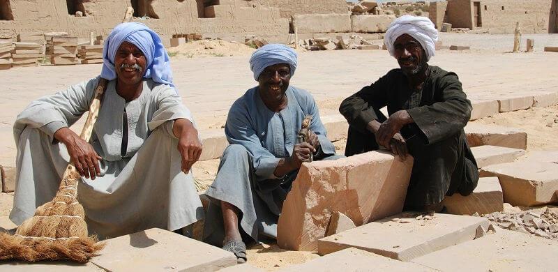 Население Египта