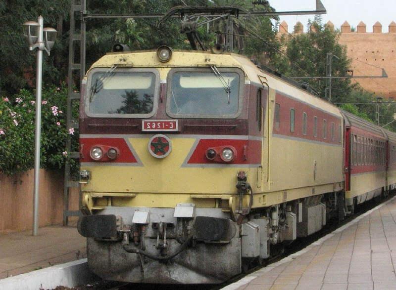 Ж/д транспорт в Египте