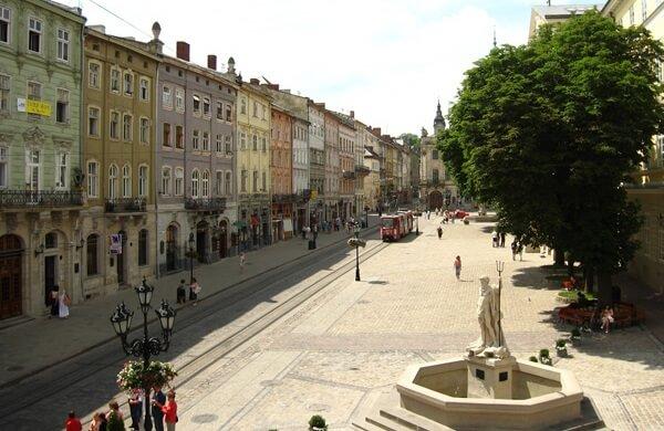 Туристические маршруты через Львов