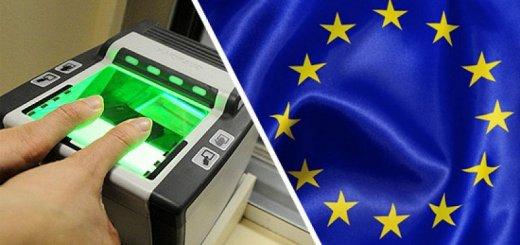 Отпечатки пальцев и оформление Шенгена