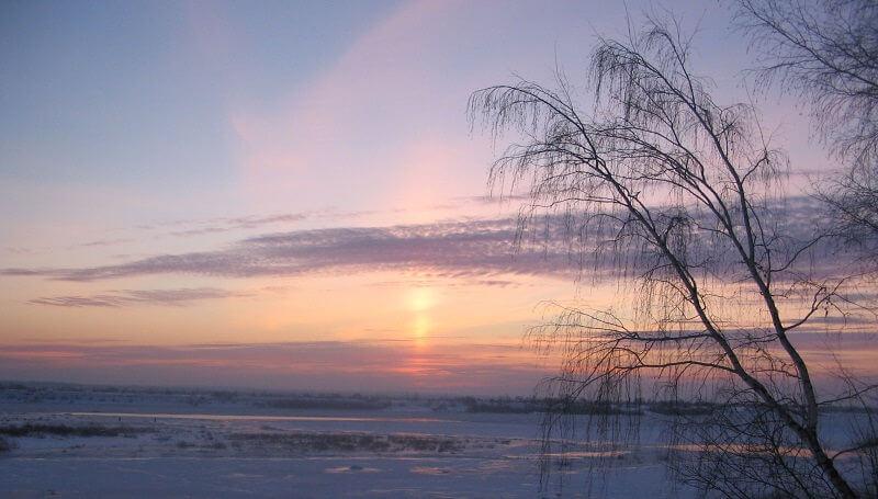 Отдых зимой в Сибири