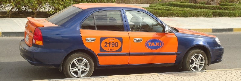 Такси в Египте